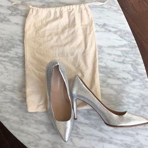 Jcrew leather heels
